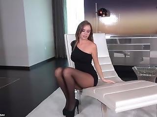 Tette Grandi, Nera, Fetish, Mutandine, Collant, Sexy, Provocatoria