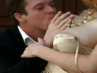 Big Boob, Blonde, Blowjob, Boob, Juicy, Saggy Tits