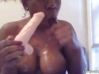Black Porn Star Jessica Grabbit With Immense Boobs