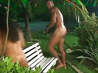 Anal, Dupa, Duży Tyłek, Duże Cycki, Blondynka, Brazylijka, Sperma, Międzyrasowy, Seks
