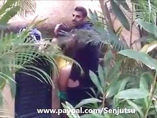 Sexy Arab Guy Caught Fucking Girl Outside!!