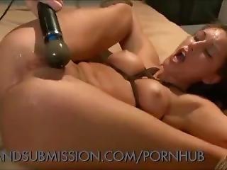 Sexy Brunette Bdsm