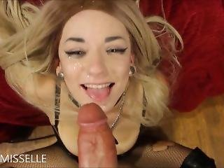 Littlemisselle Collared Bj Fuck And Facial Psy-faerie