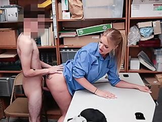 Slut Lp Officer Rachael Cavali Fucks A Hunk Shoplifter