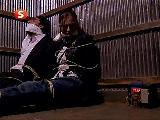Gagged Tv Leather Jacket Damsel 17