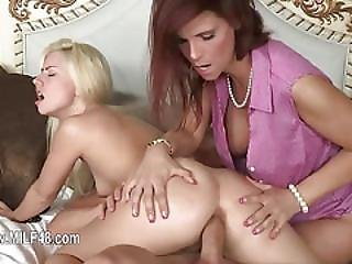 First Time Babysitter Banging Her 50yo Mom