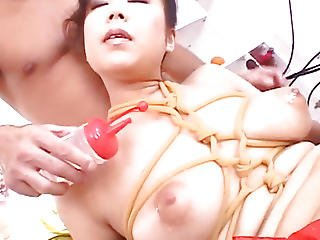 Marin Asaoka Drilled In Servitude Style And Creamed With Semen