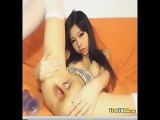 Asiatique Se Gode Le Cul