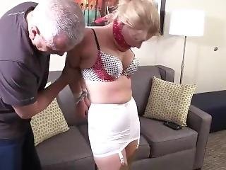 Whitney Chairtied Gagged Awesome!