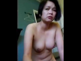 Chi Vuong Loves Gagging On James Cock While Being Filmed