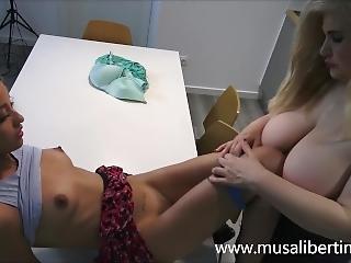 Hot Housewife Fucks Her Neighbors Daughter