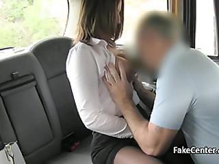 Black Stocking Milf Fucked In Cab