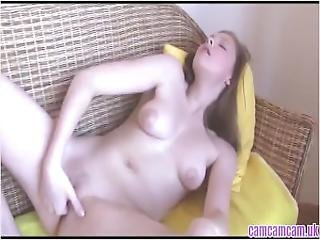 Fingering Teen Plays With Her Self