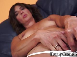 Little Tits Granny Jizzed