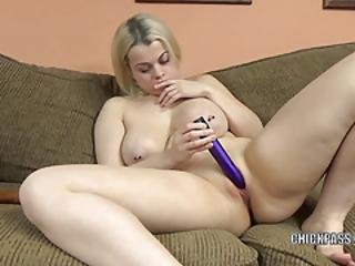 Nadia White Uses Two Toys To Make Herself Cum