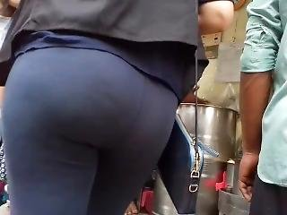 Indian Girl- Black Jeans, Asses