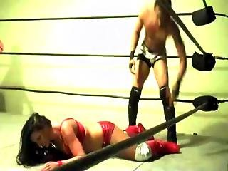 Santana Garrett Intergender Match Video 5