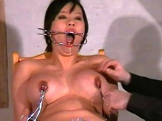 Japanese Needle Sadism Of Big-titted Oriental Tigerr Juggs Inside X-rated Piercing Torture And Gagged Asian Punishments