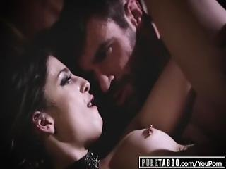 Pure Taboo Kristen Scott Blackmails Teacher And His Teen Lover