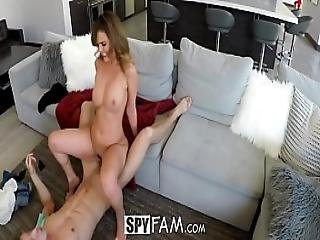 Spyfam Step Sister Dillion Harper Curious About Step Brother Cock