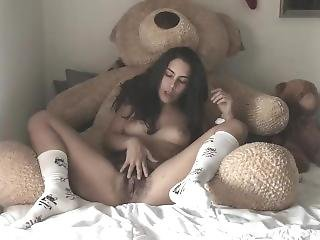 Teddy Bear Humping & Glass Toy