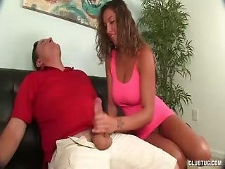 Clubtug-horny Teen Jerks Off Her Uncle