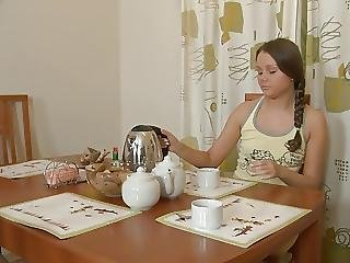 Hot Teens Give Each Other A Senusla Massage Before Fucking