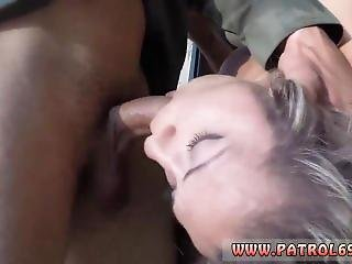 Sexy Ebony Teen Rides Dildo The Officer Undressed Her Down, And Then