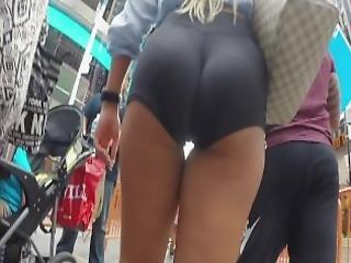 Street Voyeur Follows Amazing Blonde S Ass