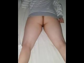 A Nice Long Wee In Her Bed
