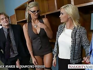 Blonde, Blowjob, Foursome, Fucking, Groupsex, Hardcore, Pornstar, Sex