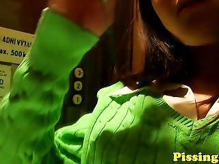 Goldenshower Schoolgirl Fucked In Elevator