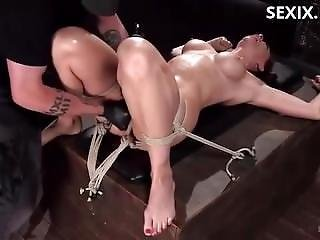 Sexix.net - 16971-hogtied Ht 38016 Chanel Preston And The Pope