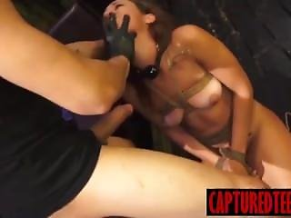 Young Sophia Gets Abducted For Deepthroat Bj And Bondage Sex