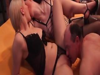 Gangbang Orgy With Hot German Teens