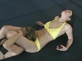 Ava Vs Keri In The Ring