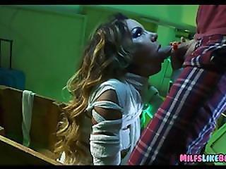 Mummy Cougar Gets A Big Dick