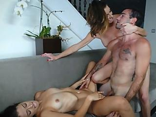 Izzy Shares Her Boyfriends Cock With Mom Silvia