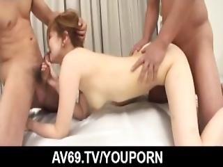 Dazzling Threesome Sex With Busty Chris Erika