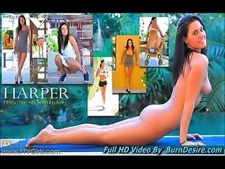 Harper Teens Public Nudity