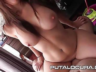 Puta Locura Busty Teen Likes It Creamy