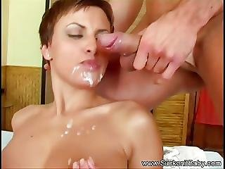 Beautiful Short Haired Czech Bj