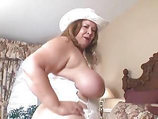 Curvy Sharon Ride Em Cowgirl
