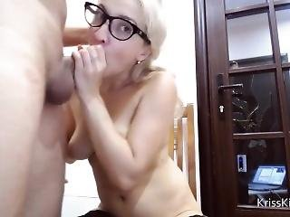 Kriss Kiss Fucks A Guy And Squirt On His Body