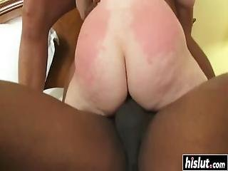 Two Guys Fucked Ariel Stonem Without Mercy