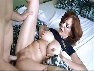 Mature Busty Milf Loves Her New Young Neighbor Boy