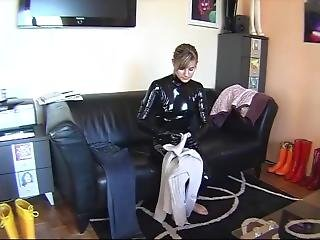Latex And Rubber Boots
