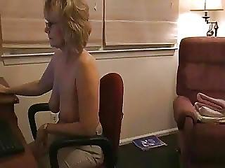 Hot Experienced Milf Self Filming While Web Camming