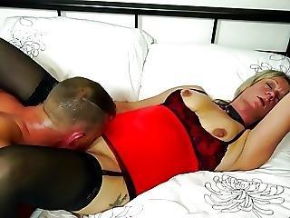 Mature Slut Mother Fucked By Her Young Lover