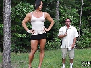 Tall Amazon Muscle Girl
